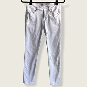 Paige Skinny Jeans White 27